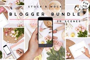 Spring & Summer Pin |Mockup & Stock