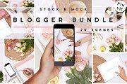 Floral Blogger BeautyMockup Bundle