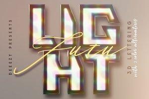 Futu Light – 3D Lettering