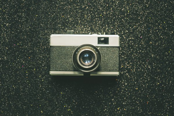 Technology Stock Photos - Old, Retro, Analog Camera