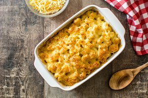 American macaroni and cheese