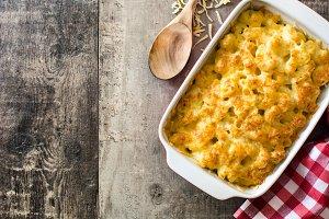 American macaroni and cheese
