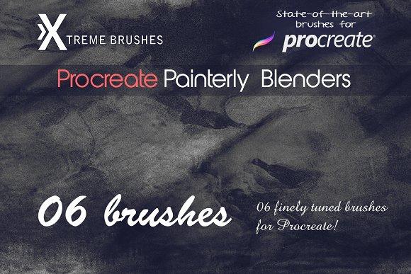Procreate Painterly Blenders