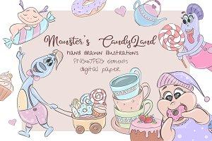 Monster's CandyLand set