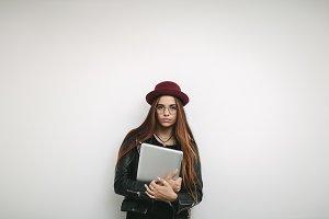 Portrait of a woman entrepreneur