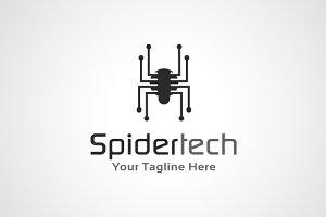 Spider Tech Logo Template