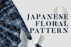 9 Japanese Floral Patterns