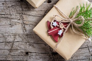 Holiday Christmas Gift Box