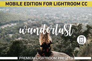 Wanderlust Lightroom Mobile Presets