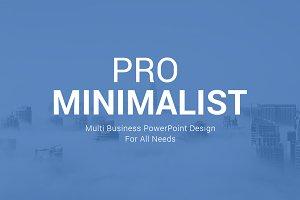 Pro Minimalist PowerPoint Template
