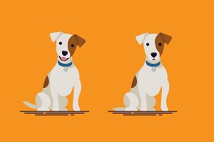Vector Jack Russell