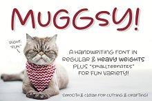 Muggsy: a short stout fun font!