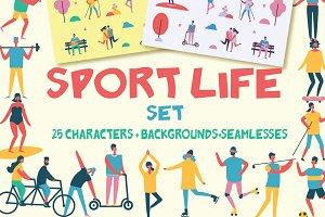 SPORT life set