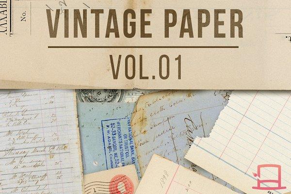 Vintage Paper Vol.01