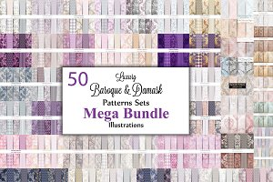 Vector bundle 50 baroque patterns