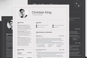 Printable Resume for Project Manager