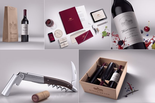 Wine Branding Bundle
