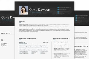 Project Manager Resume for Woman