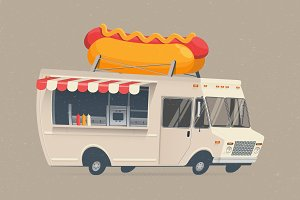 Hot Dog Food Truck.