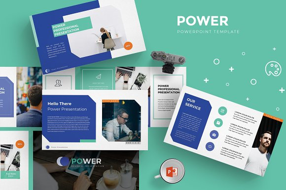 power powerpoint template presentation templates creative market