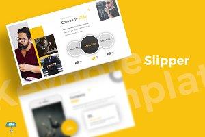 Slipper - Keynote Template
