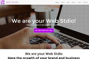 Web Studio HTML/CSS Responsive