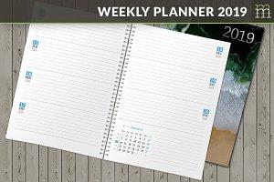 Weekly Planner 2019 (WP008-19-1)