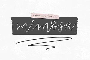 Mimosa - A Cute Handwritten Script
