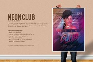 Neon Club Party Flyer