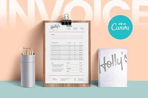 CANVA Invoice