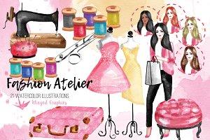 Fashion Atelier illustrations