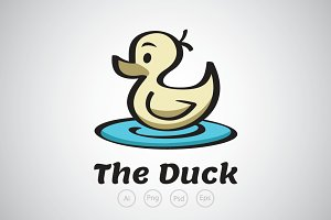 Little Duck in the Pond Logo