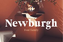 Newburgh Family by  in Serif Fonts