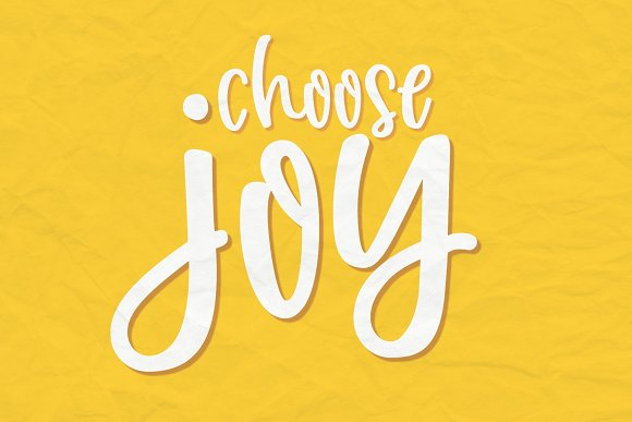 Joyfully Handwritten Font in Handwriting Fonts - product preview 1