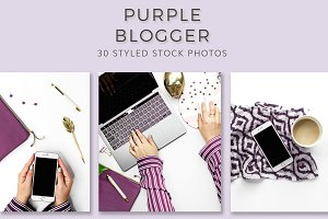 Purple Blog (30 Images)