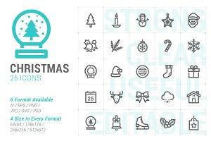 Christmas Mini Icon