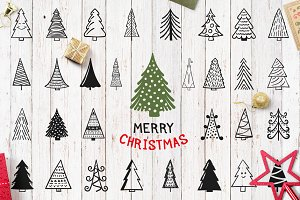 Christmas Trees and Cards