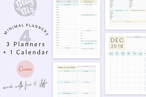 Planner Templates with Canva