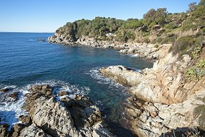 View of LLoret de Mar.Catalonia