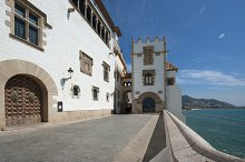 View of Sitges-Catalonia