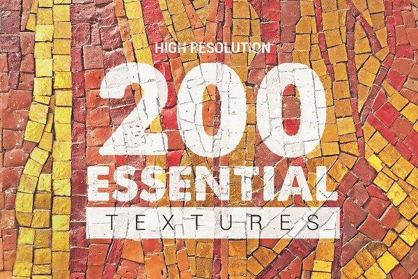 Textures: Pere Esquerra - 200 Essential Textures vol.2