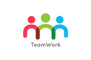 Teamwork icon business concept.