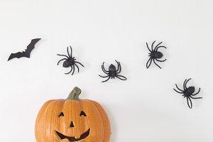 Happy Halloween Banner background