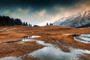 Autumn in Alps