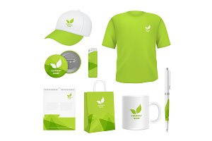 Business corporate identity. Various