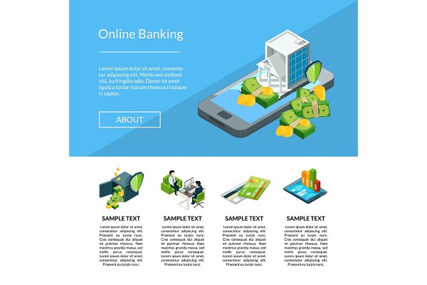 Vector isometric money flow in bank