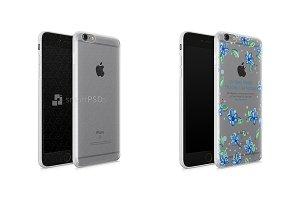 iPhone 6s Plus UV TPU Case Mockup