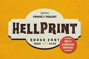 Hellprint Typeface