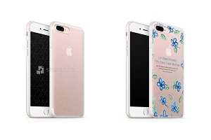 iPhone 7 Plus UV TPU Case with Frost