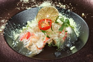 National cuisine. Russian traditiona